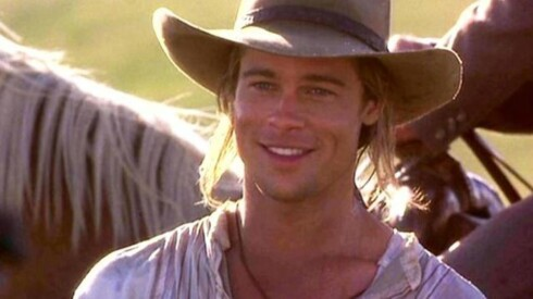 1995, Brad Pitt. Her fra Legends of The Fall. Foto: TriStar Pictures