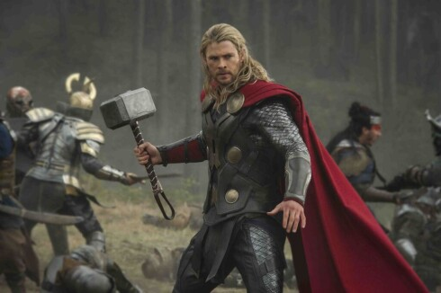 2014, Chris Hemsworth. Her fra Thor: The Dark World. Foto: Walt Disney
