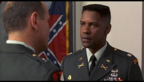 1996, Denzel Washington. Her fra Courage under fire. Foto: 20th Century Fox