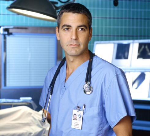 1997, George Clooney. Her fra ER. Foto: Warner Bros