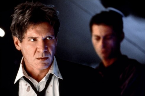 1998, Harrison Ford. Her fra Air Force One. Foto: Columbia Pictures