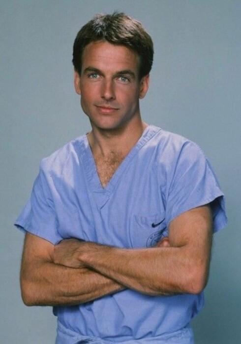 1986, Mark Harmon. Her fra St. Elsewhere. Foto: NBC