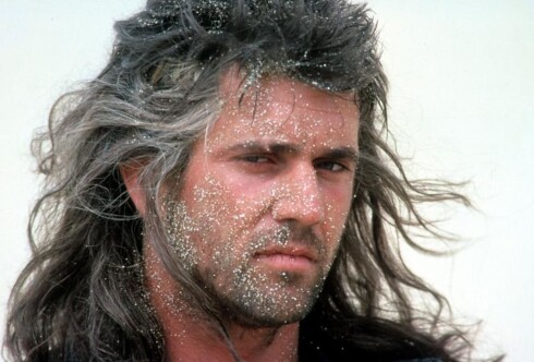 1985, Mel Gibson. Her fra Mad Max Beyond Thunderdome.  Foto: Warner Bros