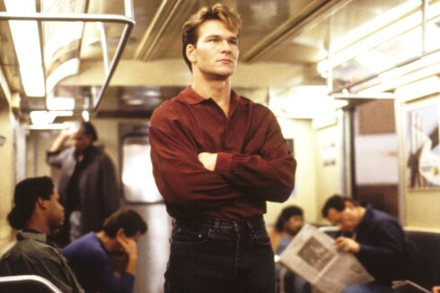 1991, Patrick Swayze. Her fra Ghost. Foto: Paramount Pictures