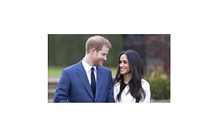 Meghan Markle viste frem forlovelsesringen i denne kåpen