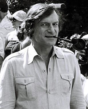 <strong>TUNG TID:</strong> Det var Playboy-gründer Hugh Hefner som ringte Bogdanovich den gang og fortalte at hans kjære Dorothy var død. FOTO: NTB scanpix