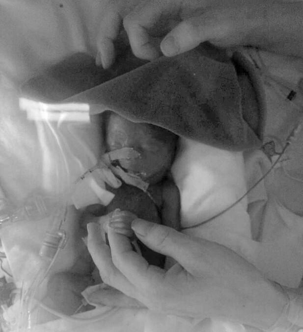 INGRID: Vesle Ingrid ble godt passet på av trygge hender på Rikshospitalet, men døde etter en måneds kamp. FOTO: Privat