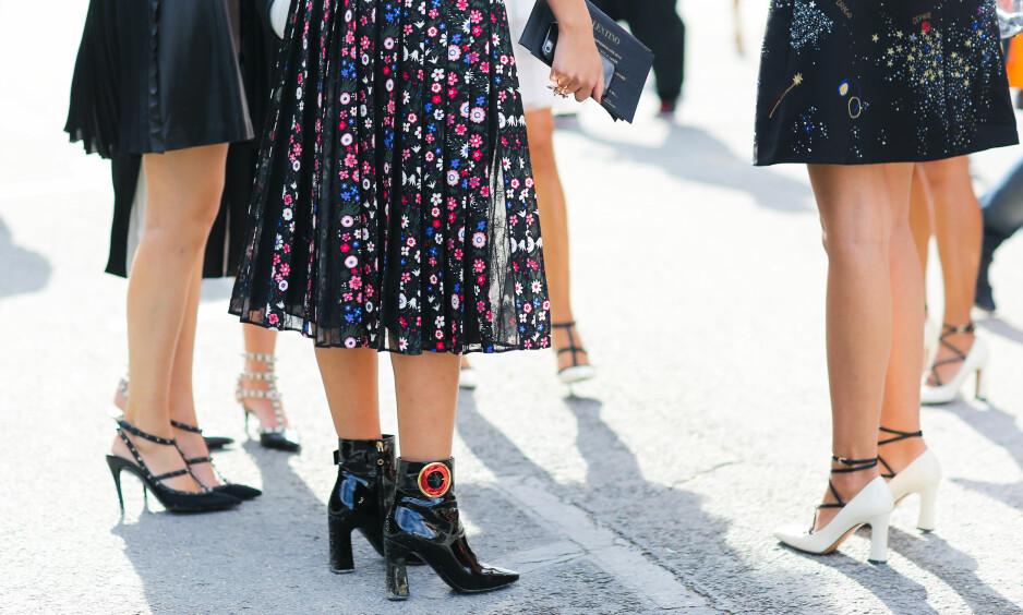 SESONGENS FESTSKO: Vi har samlet sammen skoene som ville settet kronen på verket på årets festantrekk. Foto: Scanpix