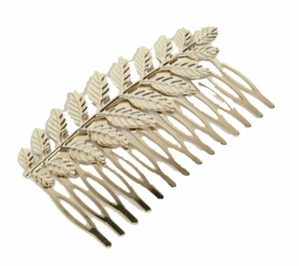 Hårpynt fra Asos |76,-| http://www.asos.com/asos/asos-occasion-leaf-hair-comb/prd/8124386?clr=gold&SearchQuery=&cid=4174&pgesize=36&pge=2&totalstyles=1089&gridsize=3&gridrow=3&gridcolumn=1