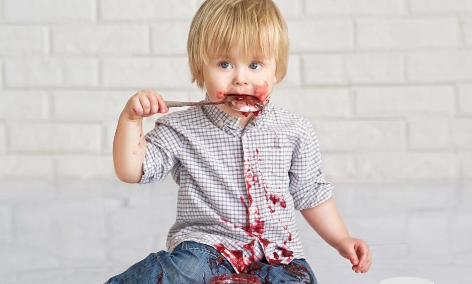 DÅRLIG ATFERD: Før barna er rundt 3-6 år gamle har de dårlig utviklet impulskontroll. Foto: Zoia Kostina / NTB Scanpix