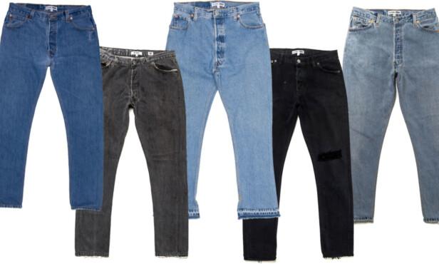 Jeans fra Re/Done. Foto: Produsenten