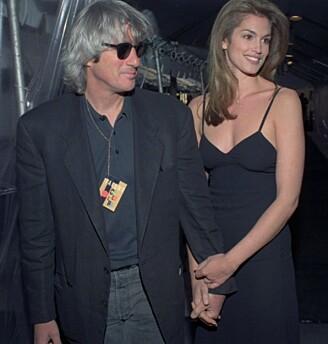 1993, for første og siste gang vinner noen som et par, og ikke som en mann. Richard Gere og Cindy Crawford vant tittelen Verdens mest sexy par i 1993. Foto: NTB Scanpix