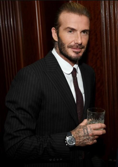 2015, David Beckham. Foto: NTB Scanpix
