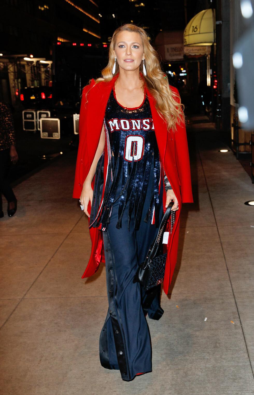 14. Da hun viste alle oss andre hvordan du egentlig skal kle deg opp for en skikkelig basketballkamp. Foto: NTB Scanpix