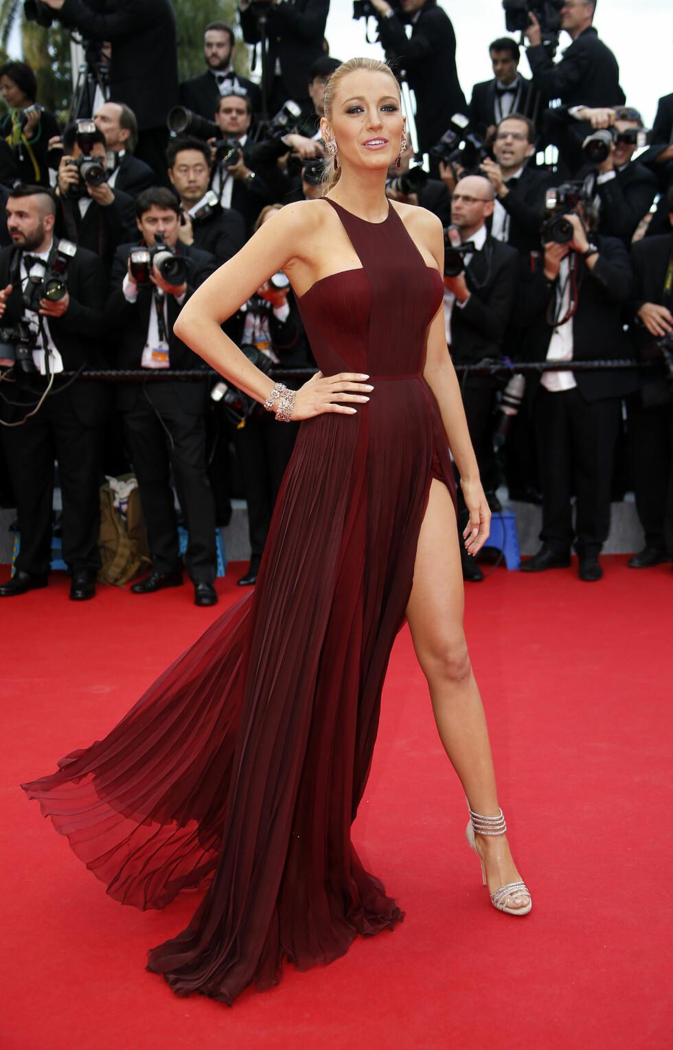 5. Da hun dukket opp på Cannes Filmfestival med denne dristige og sofistikerte kjolen. Foto: NTB Scanpix