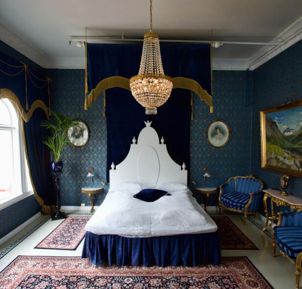 UNION ØYE: Det ærverdige trehotellet fra 1891 er et eventyrslott i sveitserstil, mens interiøret er hentet fra stilene La Belle Epoque og Victoriatid.