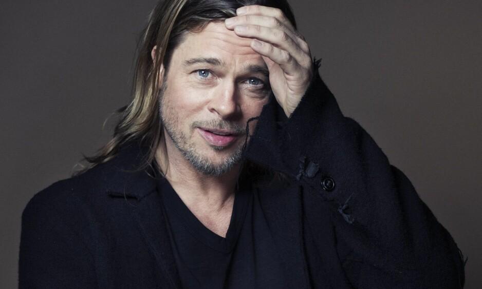 VERDENS MEST SEXY MENN: Brad Pitt er en av dem som er kåret til verdens mest sexy menn. Vi skjønner godt hvorfor. FOTO: NTB Scanpix