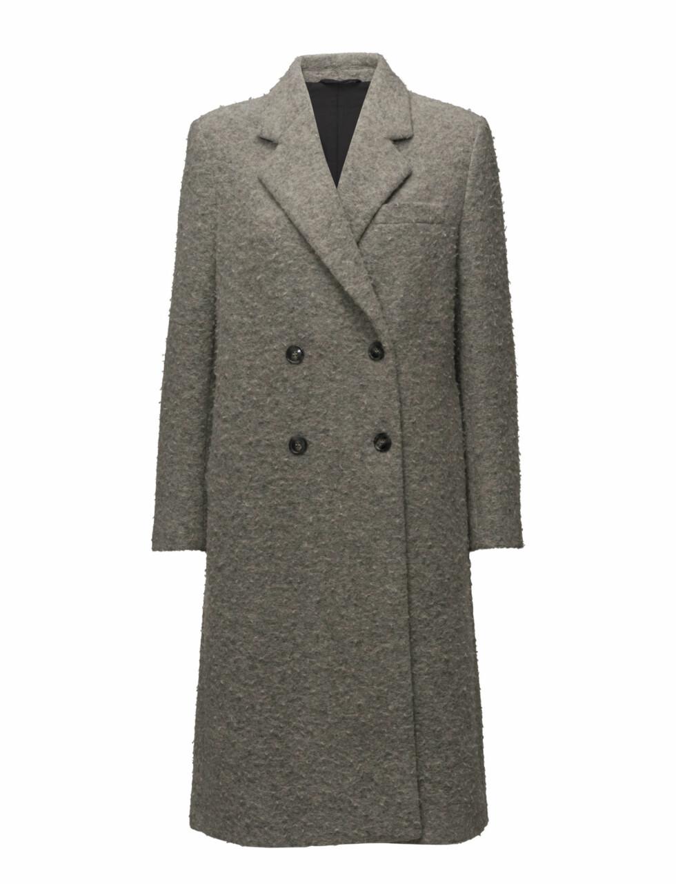 Kåpe fra Filippa K via Boozt.com  4600,-  https://www.boozt.com/no/no/filippa-k/edine-shaggy-tailored-coat_15682643/15682647?navId=67432&group=listing&position=1000000