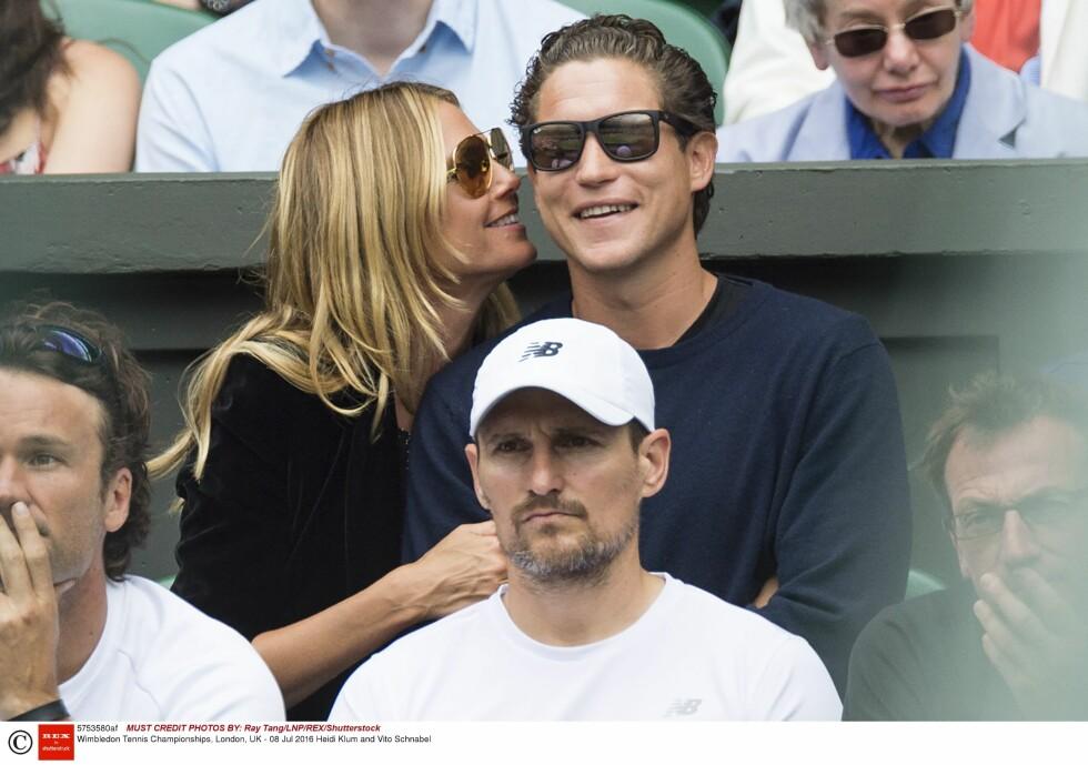 Heidi Klum og Vito Schnabel datet i tre år, men nå er det over. Foto: NTB Scanpix