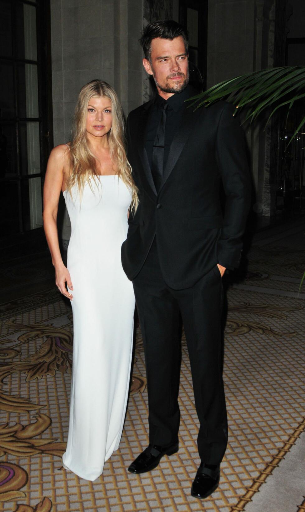 Josh Duhamel og Fergie hadde vært gift i åtte år, men separerte seg i september. Foto: NTB Scanpix