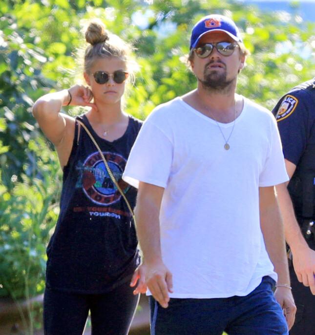 Leonardo DiCaprio og Nina Agdal holdt sammen i et år, men i mai var eventyret over. Foto: NTB Scanpix