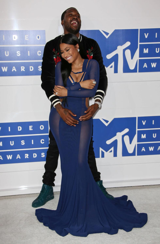 Meek Mill og Nicki Minaj gikk hvert til sitt i januar. Foto: NTB Scanpix
