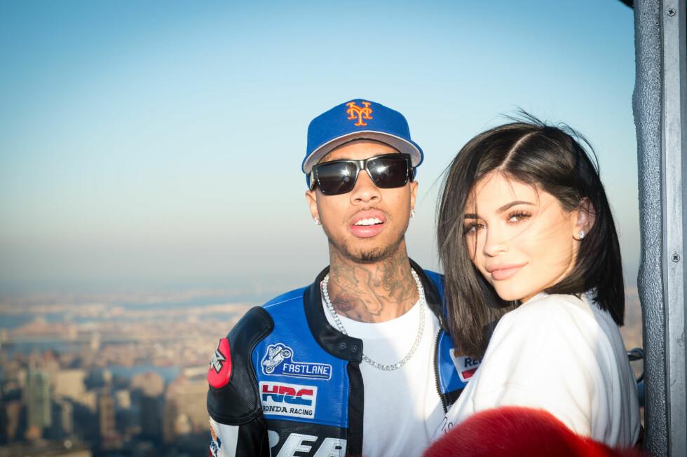 Tyga og Kylie Jenner har bltit kjent for sitt turbulente forhold, og har over flere år gått til og fra hverandre. I april ble det slutt for godt. Foto: NTB Scanpix
