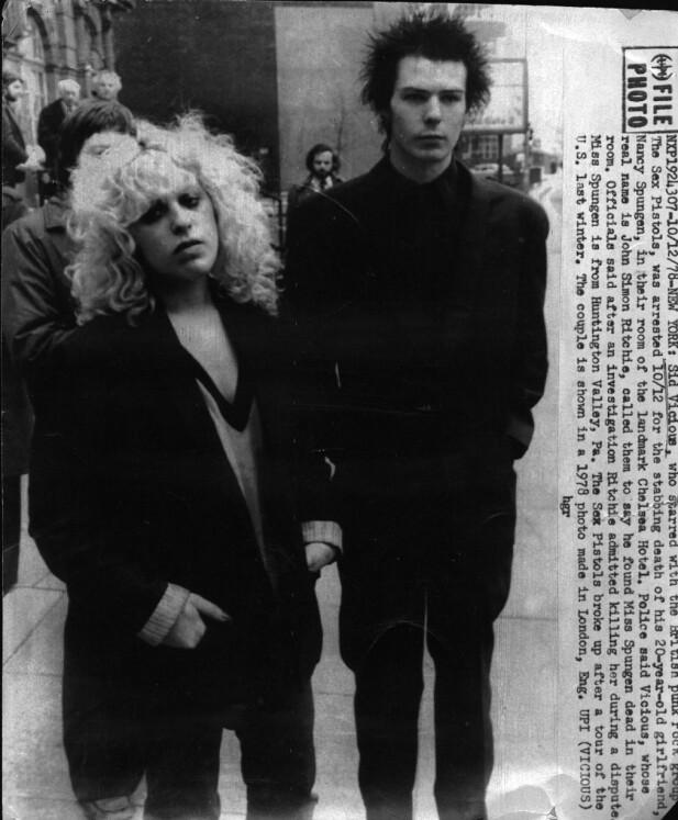 ENDTE MED TRAGEDIE: For Sex Pistols-bassisten og kjæresten skulle oppholdet på hotellet få en sørgelig slutt. FOTO: NTB Scanpix