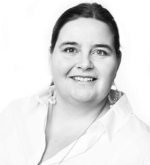 RAMMER KVINNER MEST: Kommunikasjonsrådgiver Astrid Valen-Utvik tror det er flest kvinner som utsettes for denne typen netthets. Foto: Privat