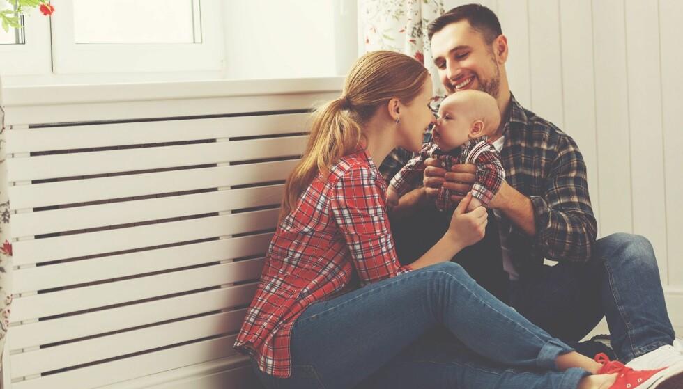 TRAVELT: Småbarnsforeldre kan ofte oppleve at det blir mindre tid til sex, men dette er altså helt normalt. Foto: Scanpix.