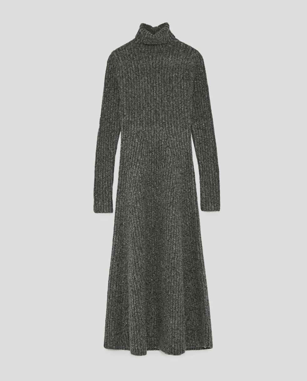 Kjole fra Zara |499,-| https://www.zara.com/no/no/ribbestrikket-kjole-p09088105.html?v1=5432009&v2=733885