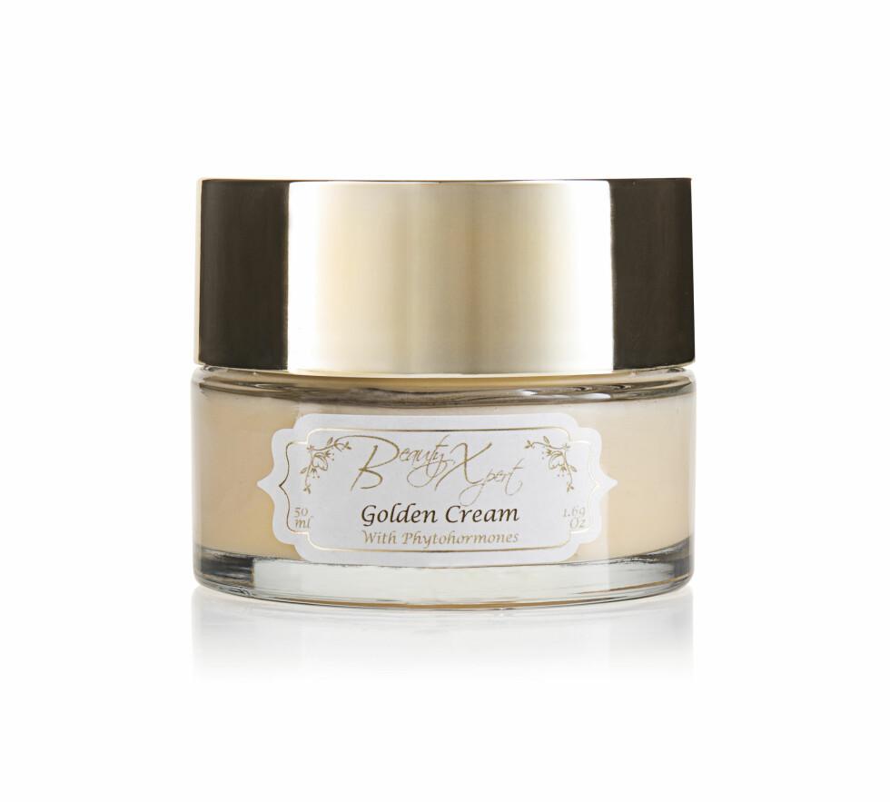 Antiage dagkrem (kr 650, Beauty Xpert, Golden Cream).