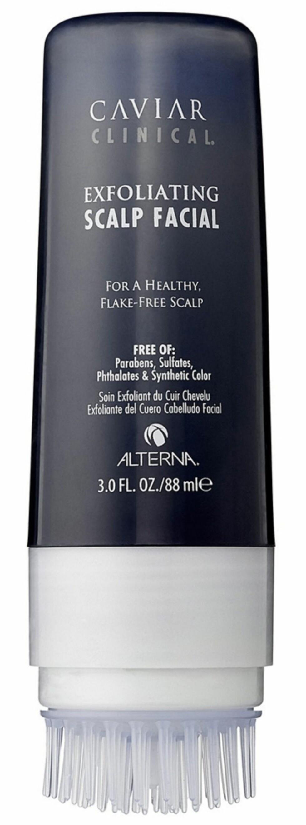 Alterna, Caviar Clinical, Exfoliating Scalp Facial (kr 420).