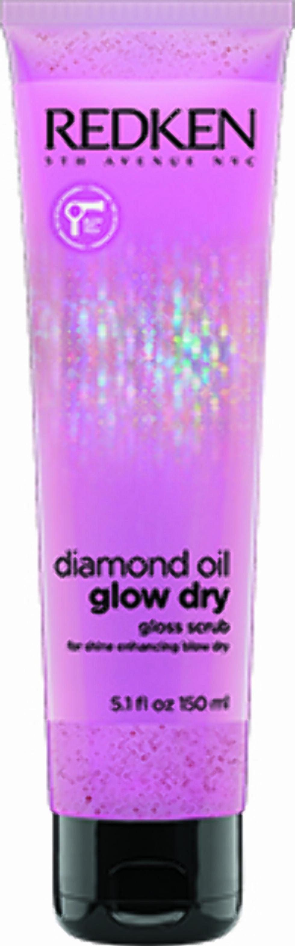 Redken, Diamond Oil Glow Dry, Gloss Scrub (kr 250).