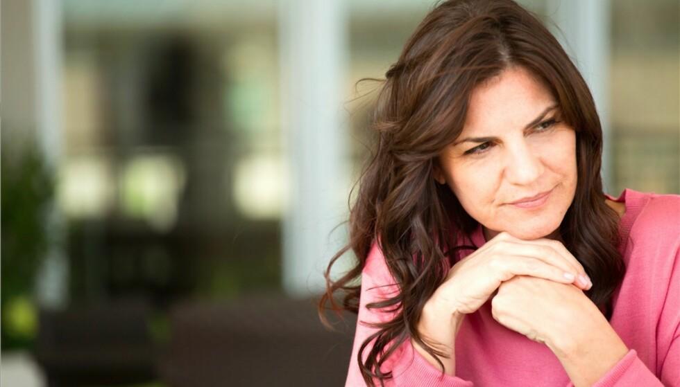 <strong>OVERGANGSALDEREN:</strong> Én av fire kvinner opplever alvorlige plager i forbindelse med overgangsalderen. FOTO: Scanpix