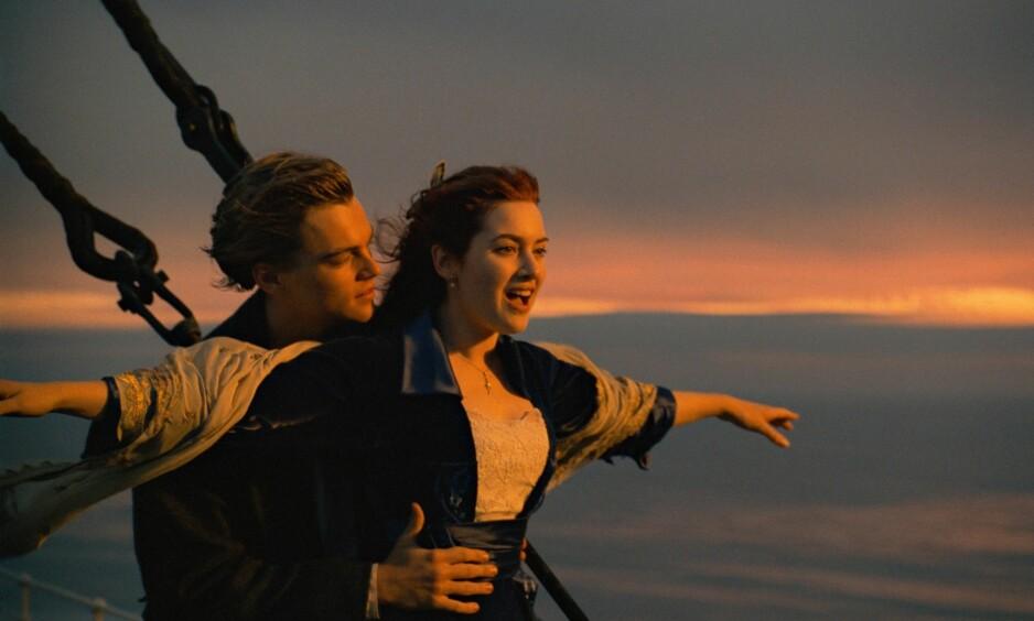 TITANIC 20 ÅR: Det mangler ikke på kreative teorier om historien til Rose og Jack. FOTO: Titanic