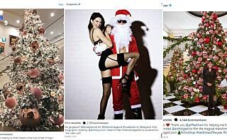 Slik feirer Kardashian-familien jul