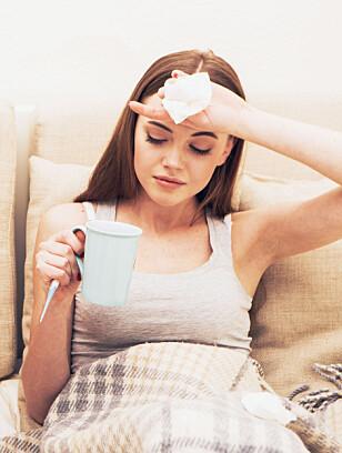 SYK: Blir du ofte syk rett før ferein? Så fort immunsystemet vårt slapper av, blir vi ofte syke, forklarer professor. FOTO: NTB Scanpix