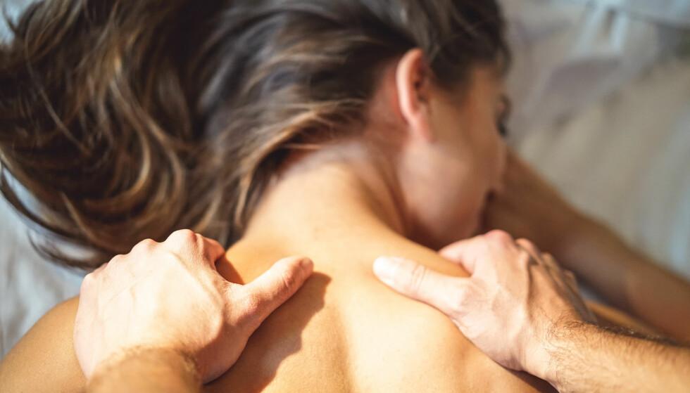 MASSASJE FORSPILL: Massasje kan være en fin del av forspillet. FOTO: NTB Scanpix