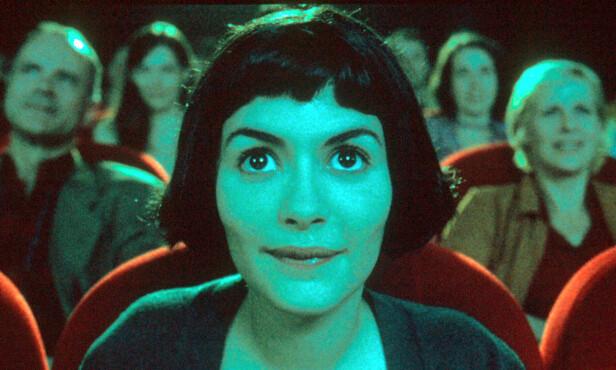 STILSIKKER: Audrey Tautou i Den fabelaktige Amélie fra Montmartre. FOTO: NTB Scanpix