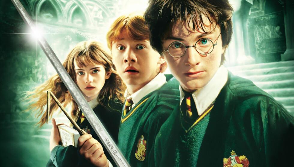 HARRY POTTER: Flere kjendiser gjemmer seg fremdeles blant rollebesetningen til Harry Potter. Foto: Harry Potter