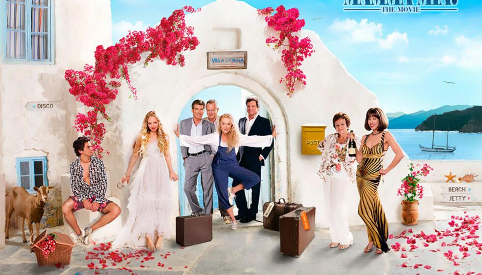 NÅ ER TRAILEREN HER: Det har lenge vært kjent at en ny Mamma Mia-film kommer og endelig er traileren her! Foto: Mamma Mia