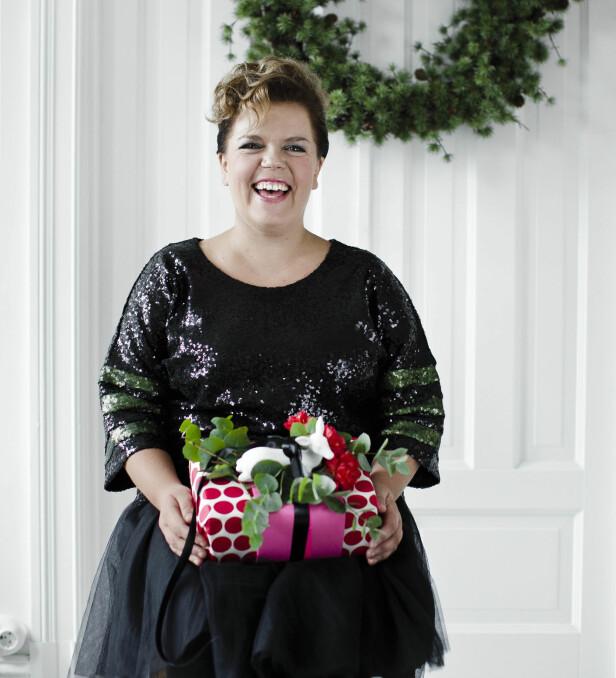 - Jeg liker mye stæsj, har Else fortalt KK tidligere, når det gjelder å pynte til jul. FOTO: Yvonne Wilhelmsen
