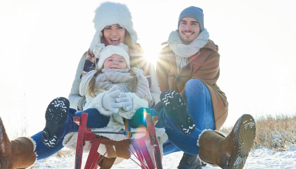 AKETUR: Aktivitet og trening kan kombineres med familietid. FOTO: NTB Scanpix