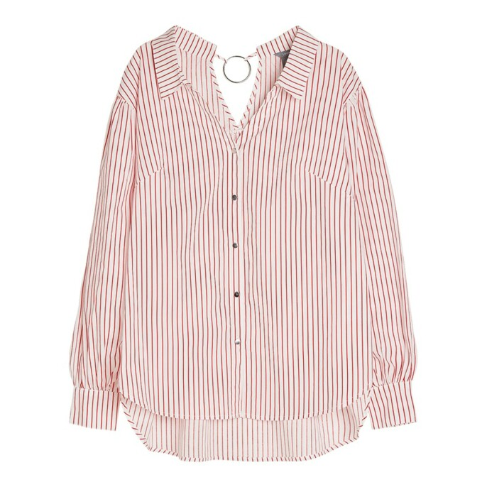 Skjorte fra Lindex |150,-| https://www.lindex.com/no/salg/dame/7658774/Stripet-bomullsskjorte/