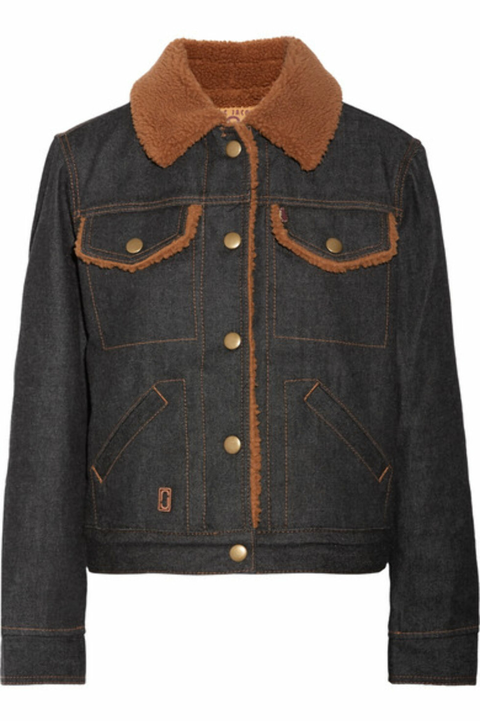 Jakke fra Marc Jacobs |3370,-| https://www.net-a-porter.com/no/en/product/936630/marc_jacobs/faux-shearling-lined-denim-jacket
