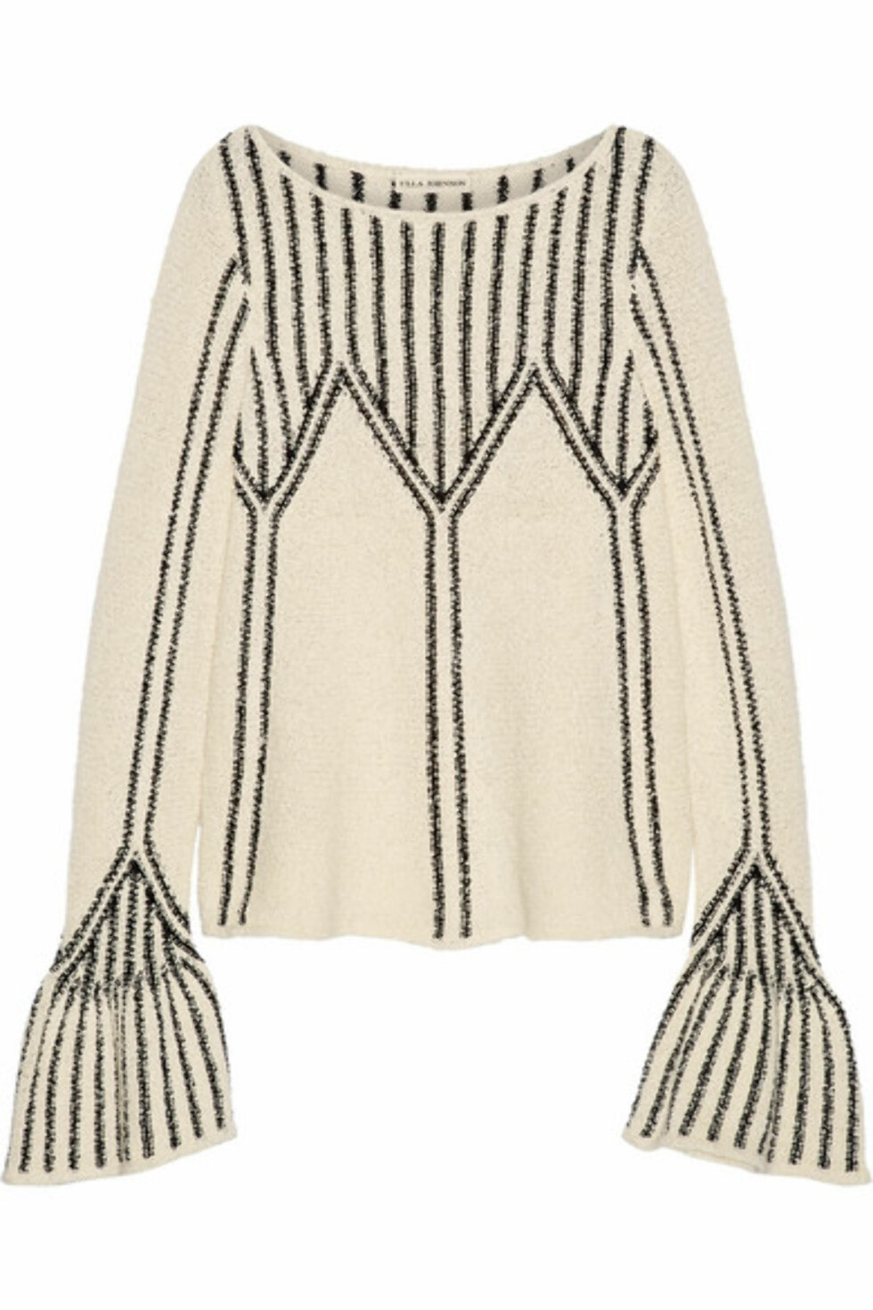 Genser fra Ulla Johnson |3400,-| https://www.net-a-porter.com/no/en/product/892534/ulla_johnson/beatriz-boucle-knit-cotton-sweater
