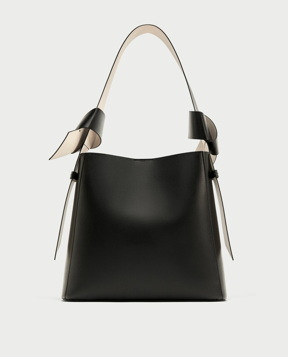 Veske fra Zara |199,-| https://www.zara.com/no/no/poseveske-med-knuter-p18422204.html?v1=4870048&v2=731514