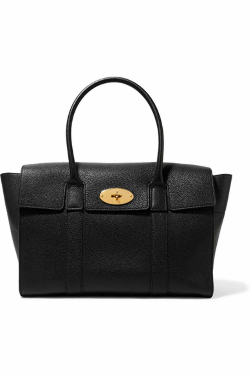 Veske fra Mulberry  9000,-  https://www.net-a-porter.com/no/en/product/915299/mulberry/the-bayswater-textured-leather-tote