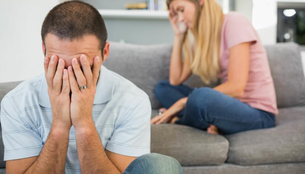 MÅ TRENES PÅ: Mange mangler trening i å snakke om vanskelige ting, mener psykolog Andreas Narum. FOTO: NTB Scanpix